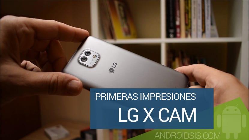 Primeras impresiones LG X Cam