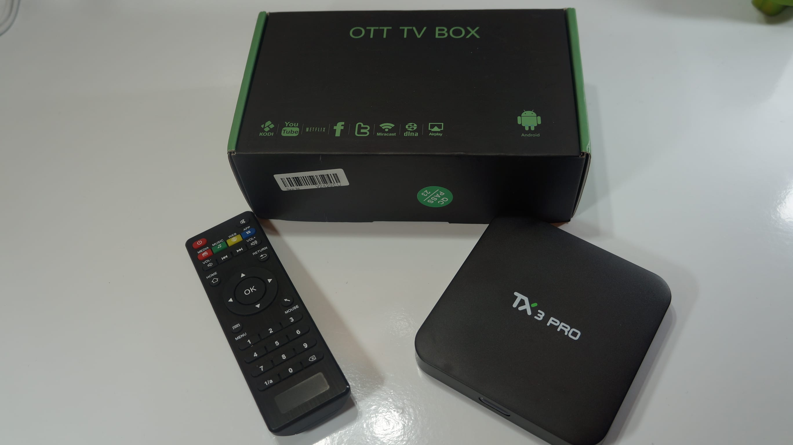 Review TV BOX TX3 Pro o cómo convertir tu TV en un Android TV por apenas 30 Euros