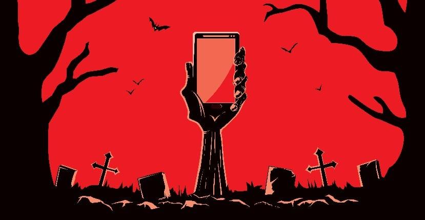 Smartphone-zombie