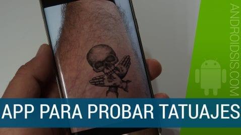 Tatuajes virtuales con realidad aumentada