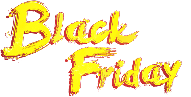 Logo Black Friday resaltón
