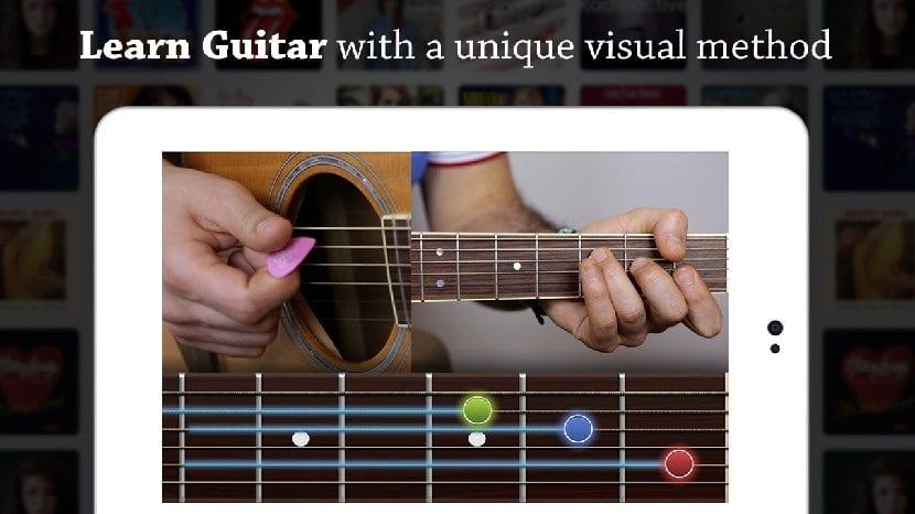 Coach Guitar para tocar la guitarra