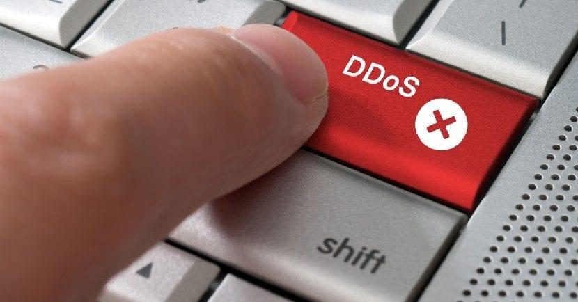 DDoS ciber ataque