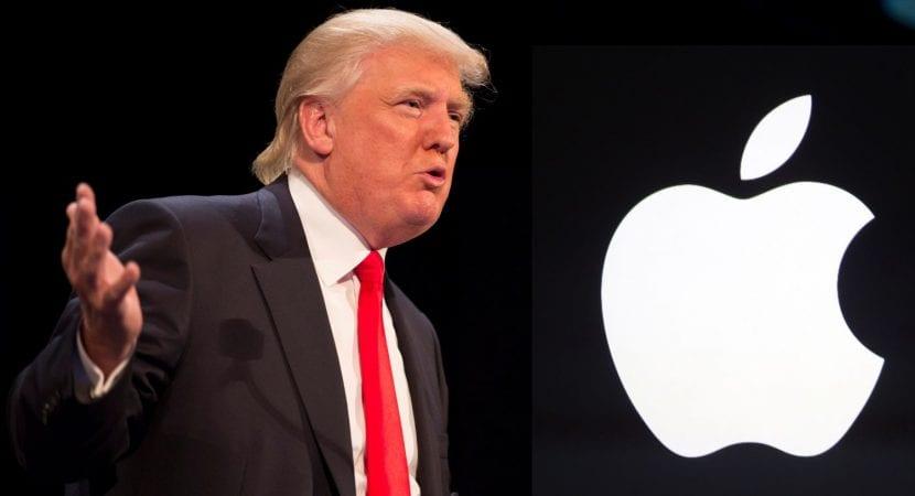 Trump vs Apple