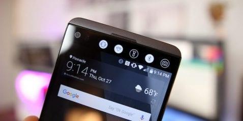 LG podría eliminar la pantalla secundaria de su serie V