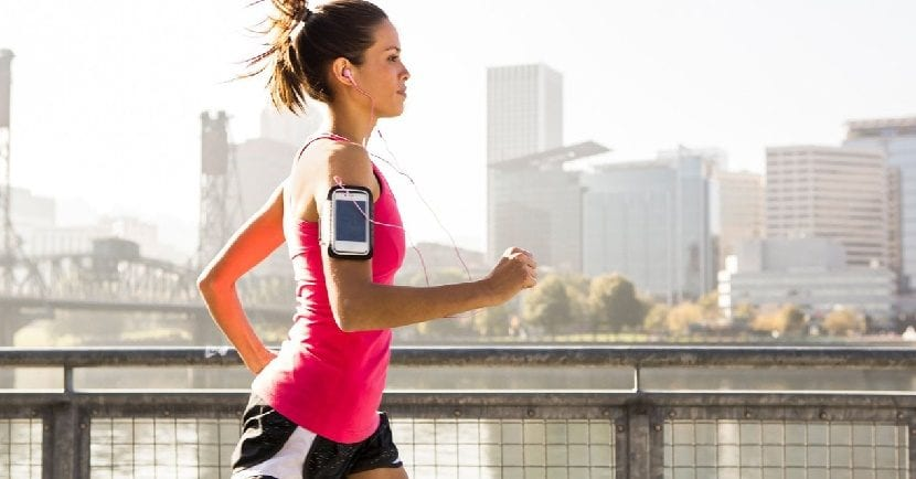 Running smartphone