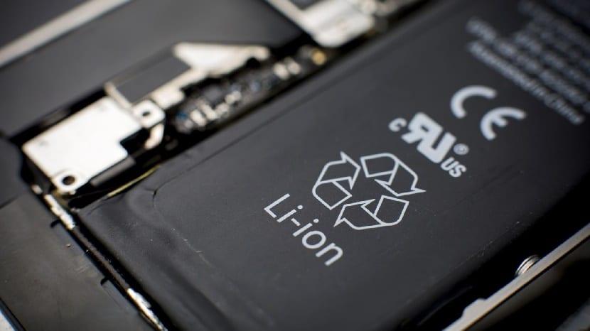 batería smartphone