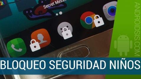 Bloqueo Android teclas y pantalla táctil