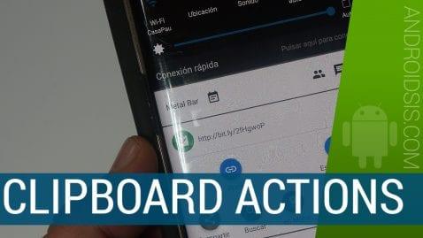 Una aplicación esencial para hacer mucho más productivo el clipboard de tu Android