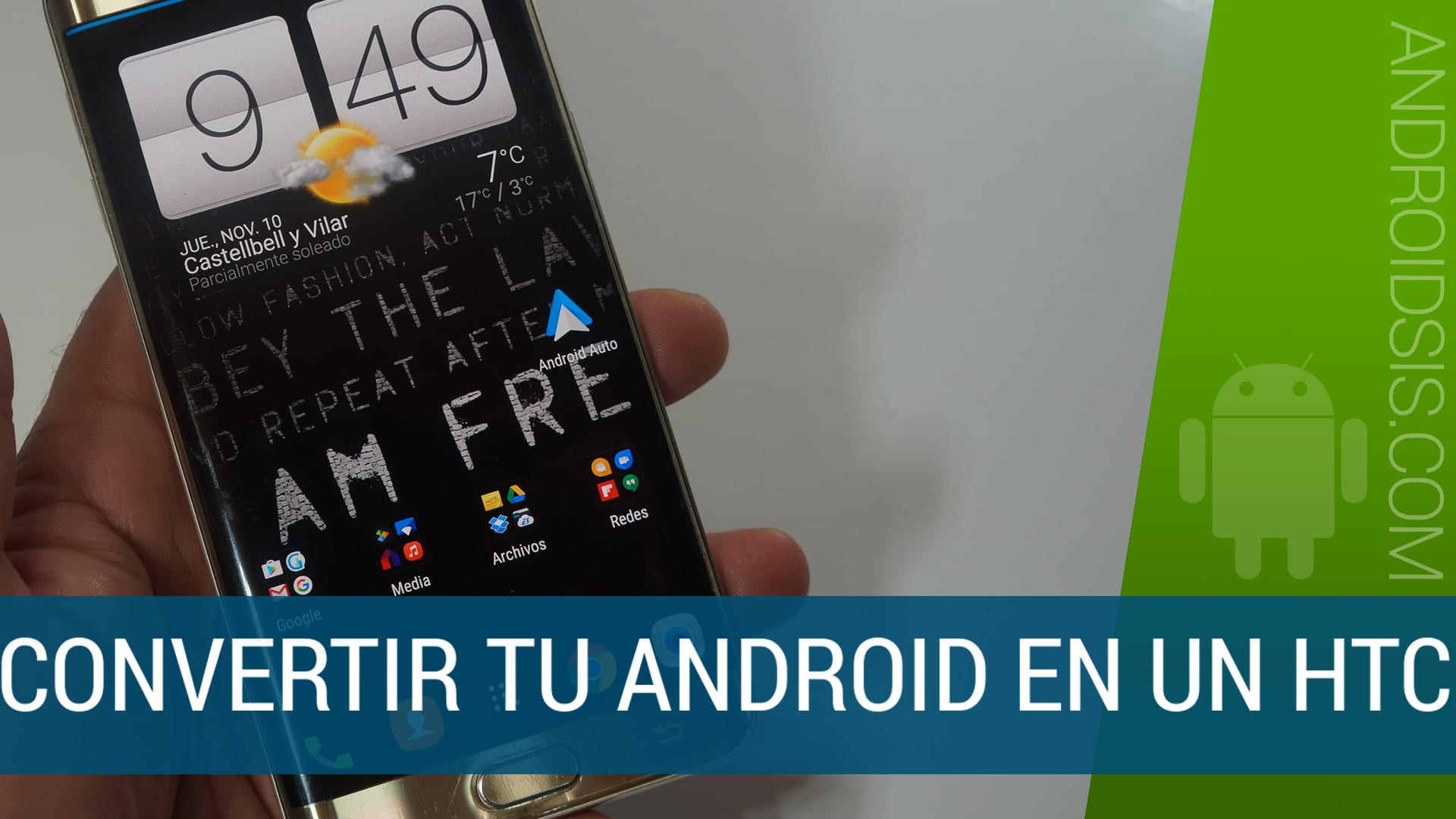 Cómo convertir tu Android en un HTC instalando HTC Sense 7