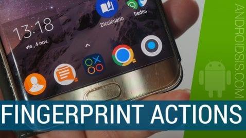 Fingerprint Actions te permite darle otra utilidad más al lector de huellas de tu Android