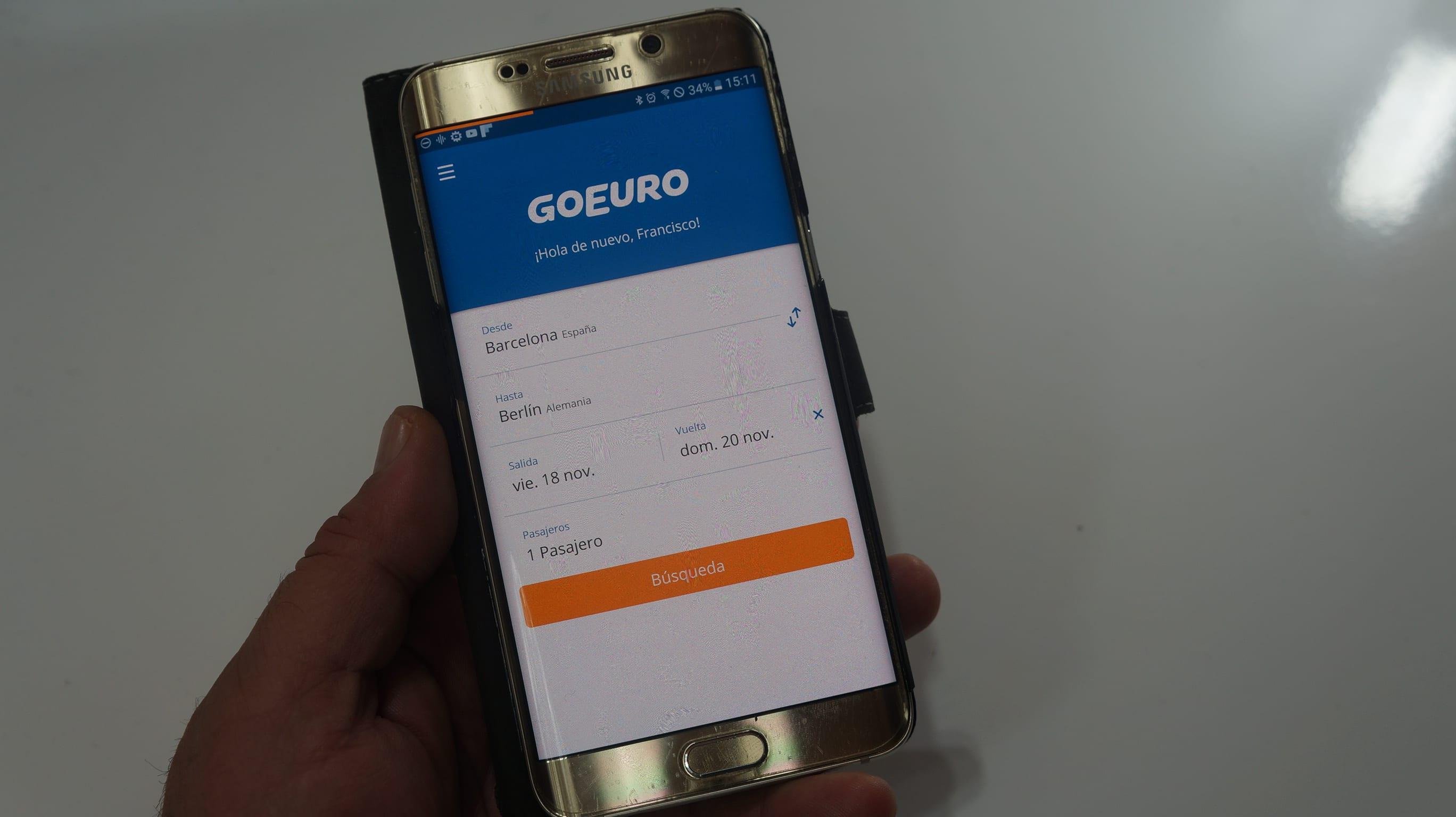 GoEuro te ayuda a encontrar los mejores chollos para viajar