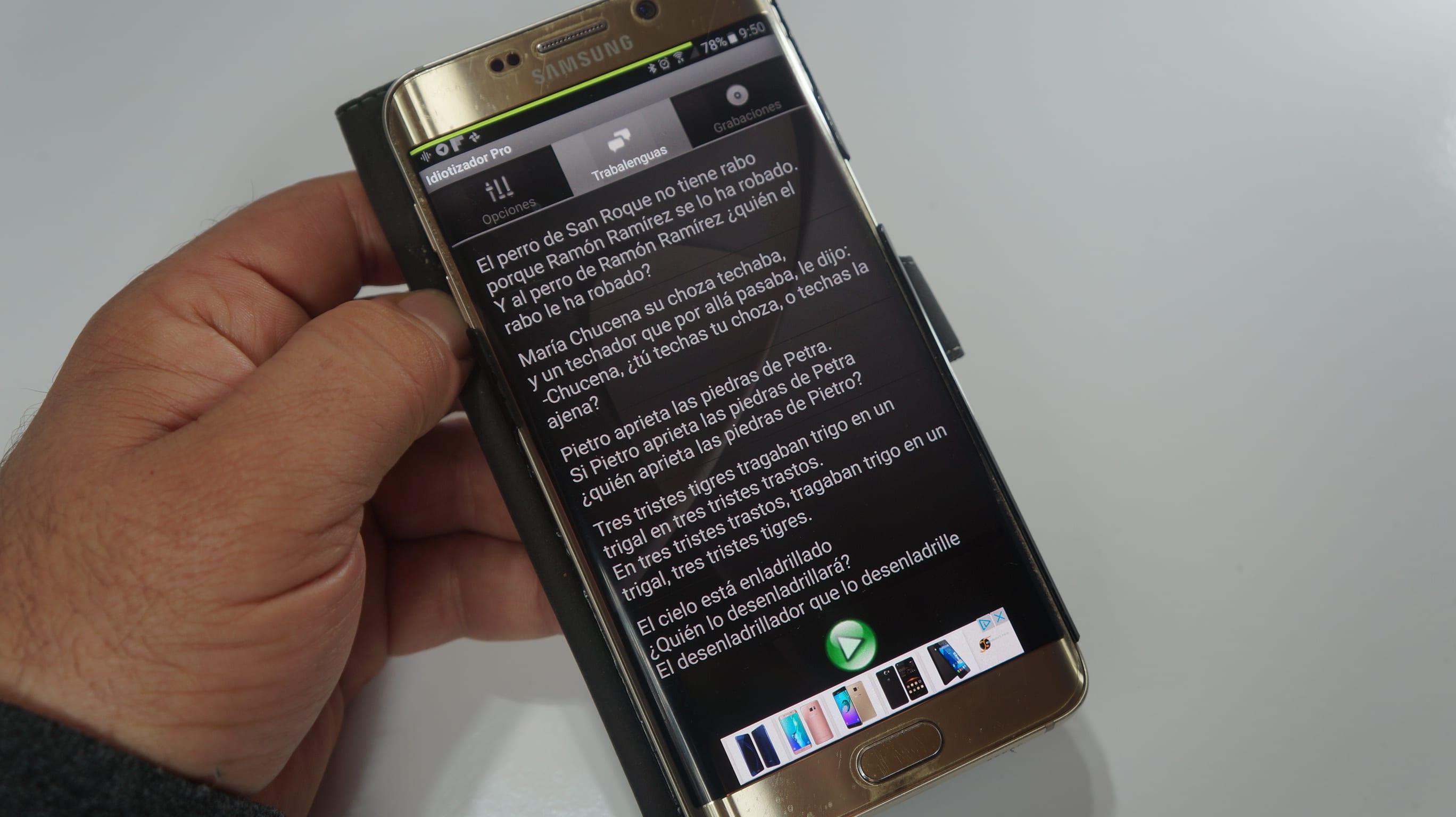 Humor Android: Hoy, el idiotizador del hormiguero en tu Android. ¿Te atreves a probarlo?.