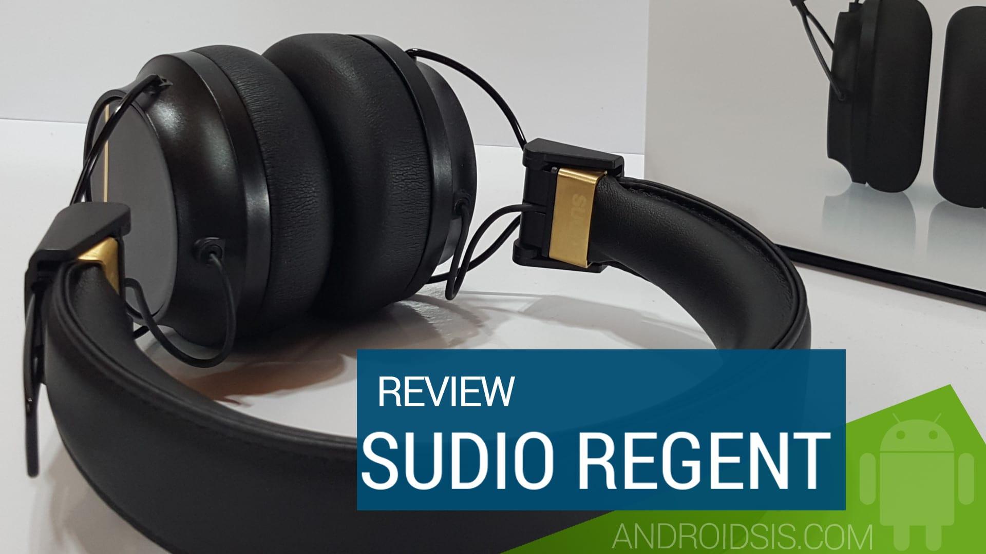 Sudio Regent, unos auriculares tope de gama al estilo Beats por 129 euros