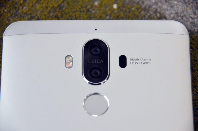 Huawei Mate 9 lector huellas