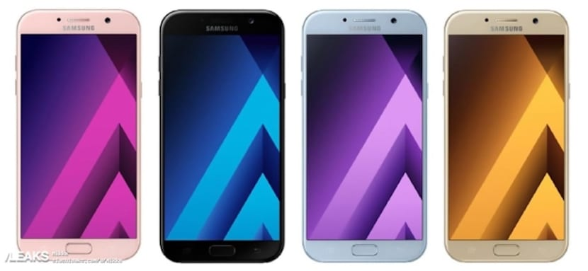 Galaxy A5 del 2017