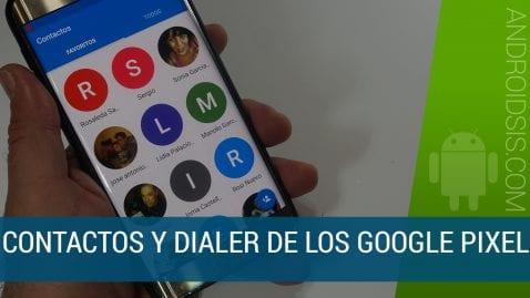 Apk Contactos y Dialer de Google Pixel