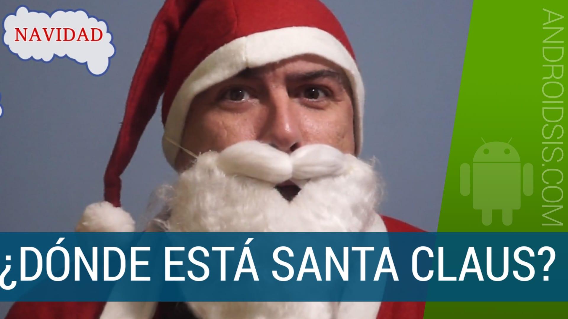 ¿Donde está Santa Claus?