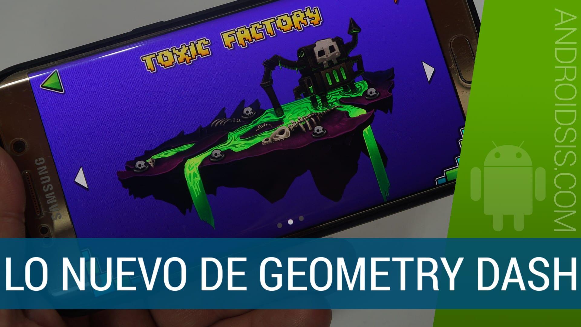 Jugamos a lo más nuevo de Geometry Dash, Geometry Dash World y Geometry Dash Meltdown