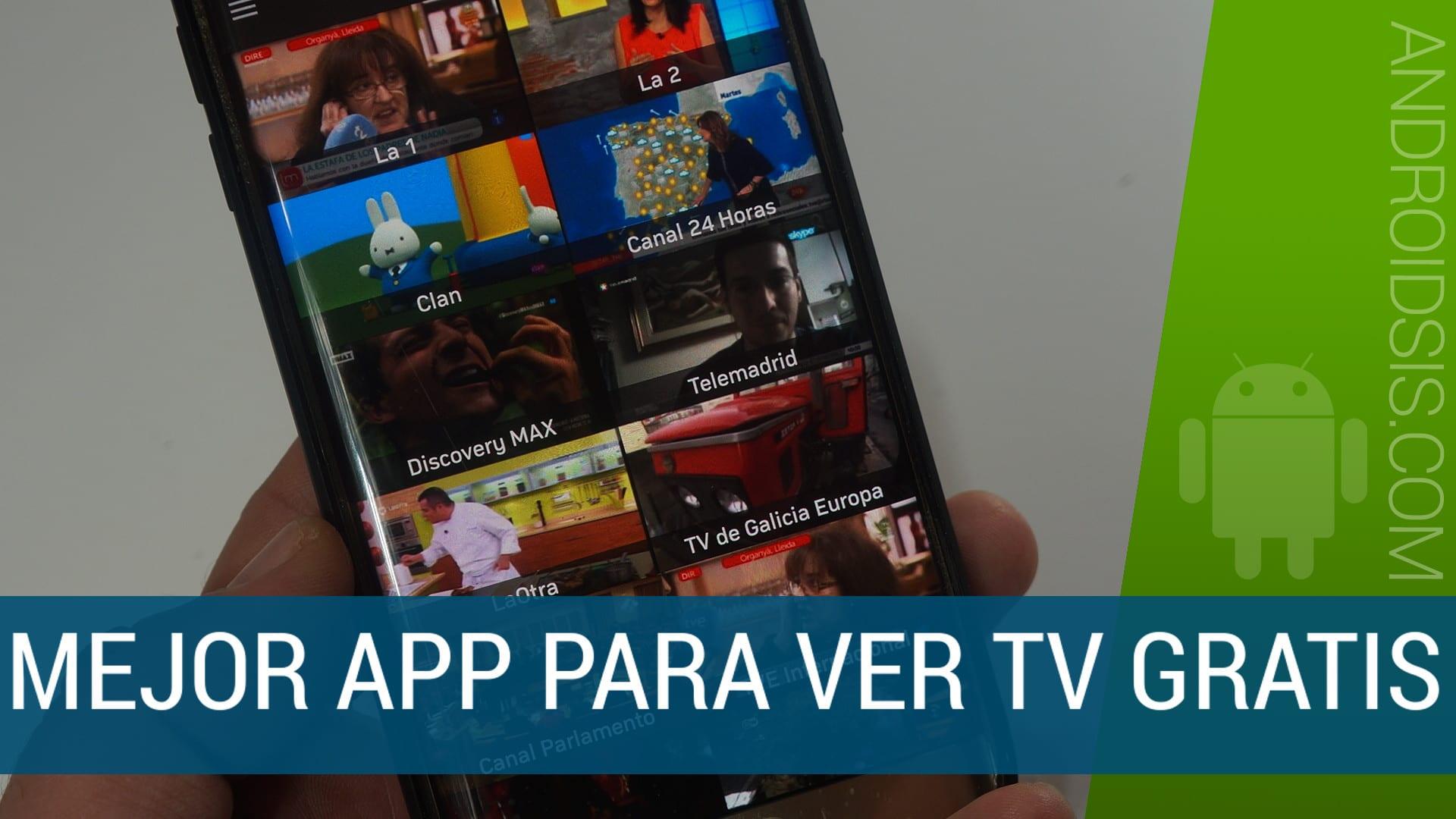 La mejor aplicación gratuita para ver la Tv en directo y gratis