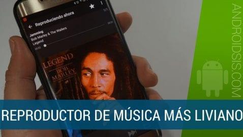 El reproductor de música más liviano para Android pesa menos de 1 Mb y esto es todo lo que nos ofrece