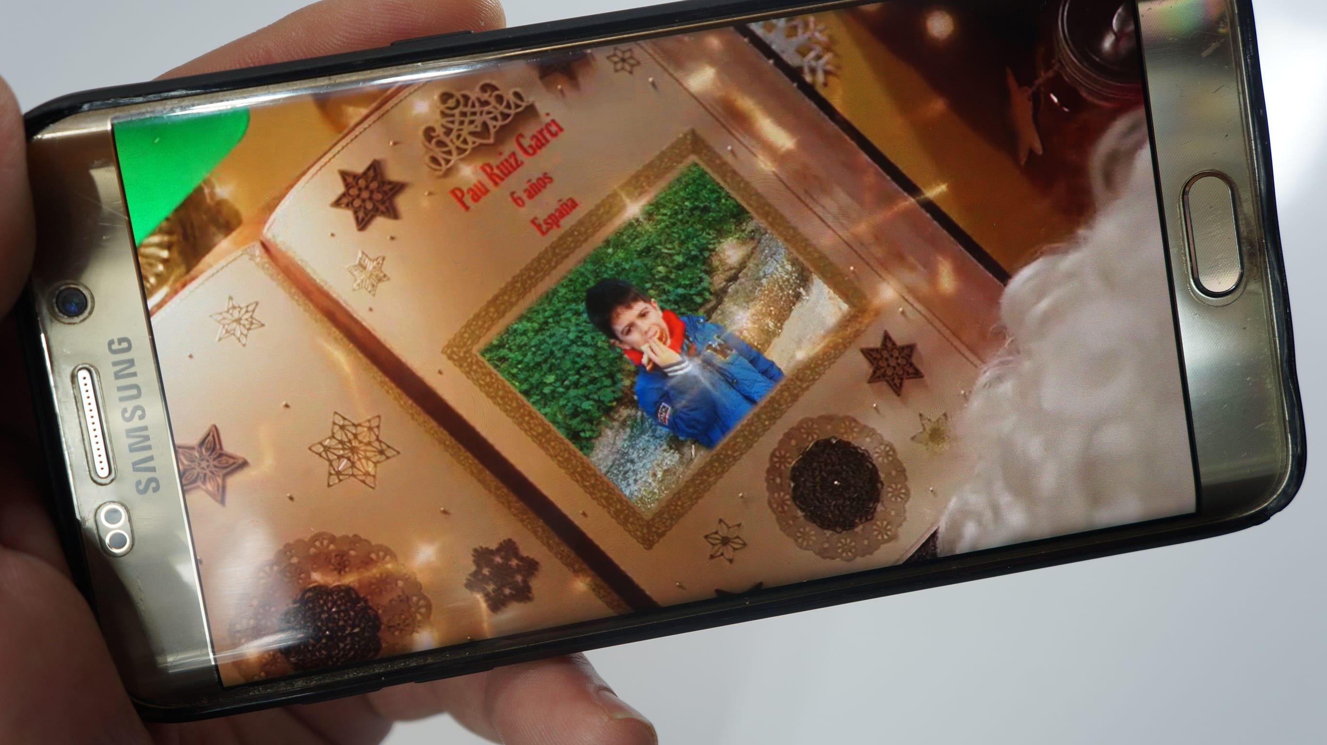 Vídeo felicitación navideña personalizada y gratuita
