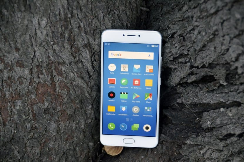 Meizu M3 Note frontal