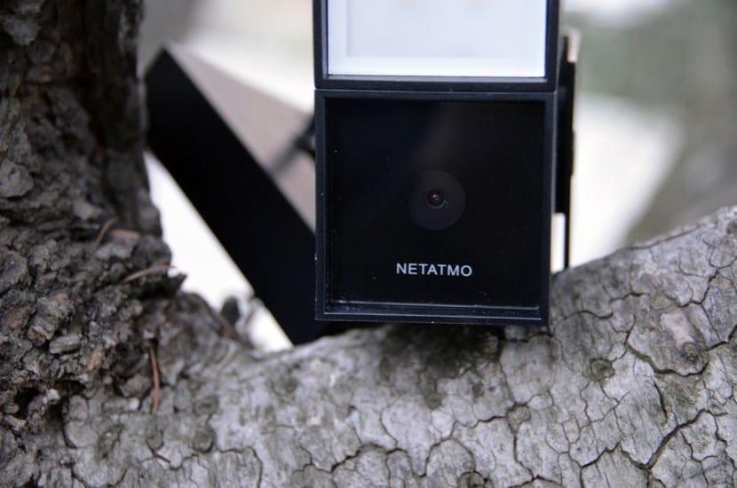 Netatmo Presence cámara frontal