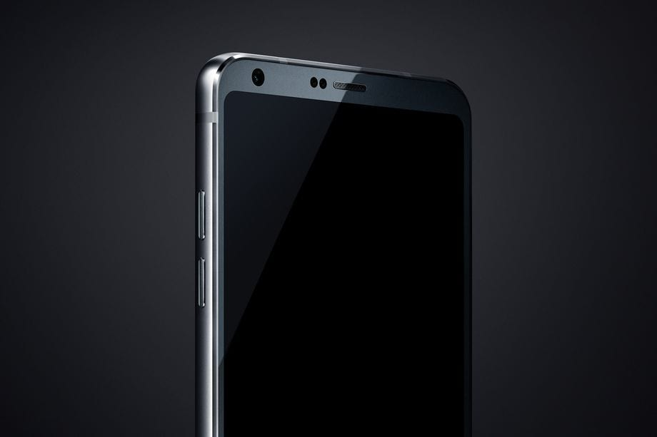 LG G6 de perfil