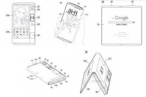 LG smartphone plegable