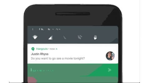 Notificaciones Nougat