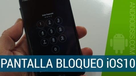 Descargar pantalla de bloqueo iOS10