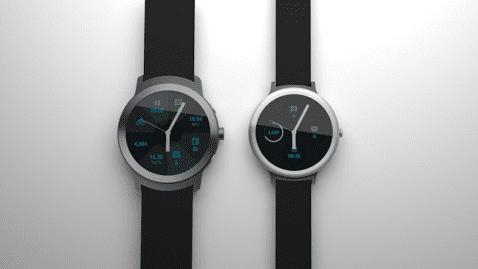 Los nuevos smartwatches de Google serán lanzados el 9 de febrero y fabricados por LG
