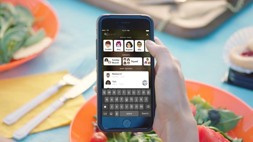 Snapchat anuncia una nueva función de búsqueda universal