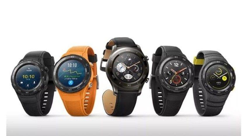 Estos son los nuevos Huawei Watch 2 presentados en el MWC 2017