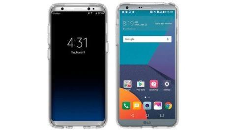 El LG G6 será lanzado el 10 de marzo; el Galaxy S8 debutará el 21 de abril