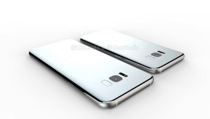 Trasera del Samsung Galaxy S8