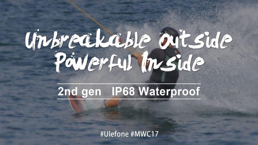 Ulefone Armor 2 con resistencia al agua y polvo