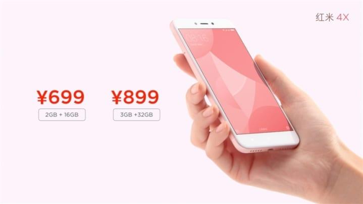 nuevo Xiaomi Recmi 4X Precios oficiales