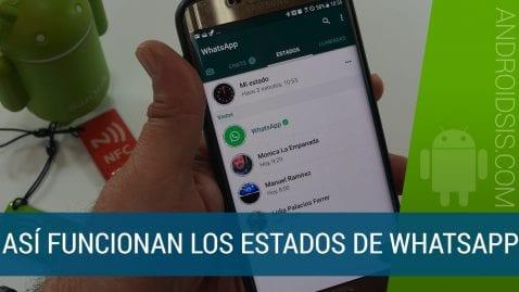 Así funcionan los nuevos estados de WhatsApp