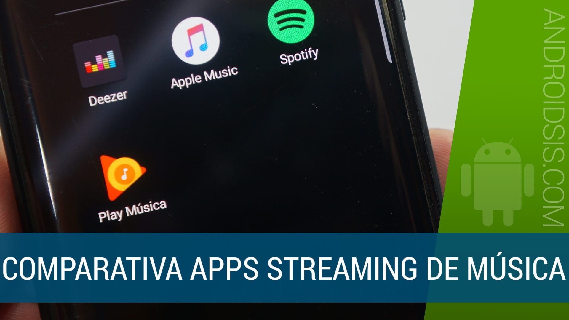 Te mostramos las cuatro mejores apps para escuchar música en streaming