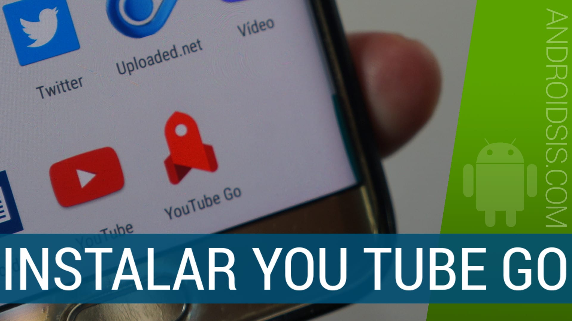 APK You Tube Go y configuración