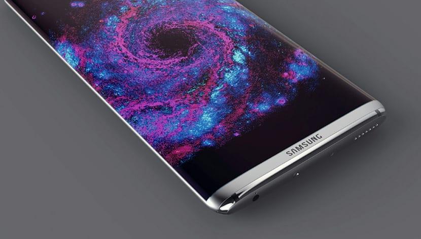 Galaxy S8 concepto