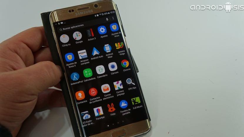 Nougat en el Samsung Galaxy S6 Edge Plus