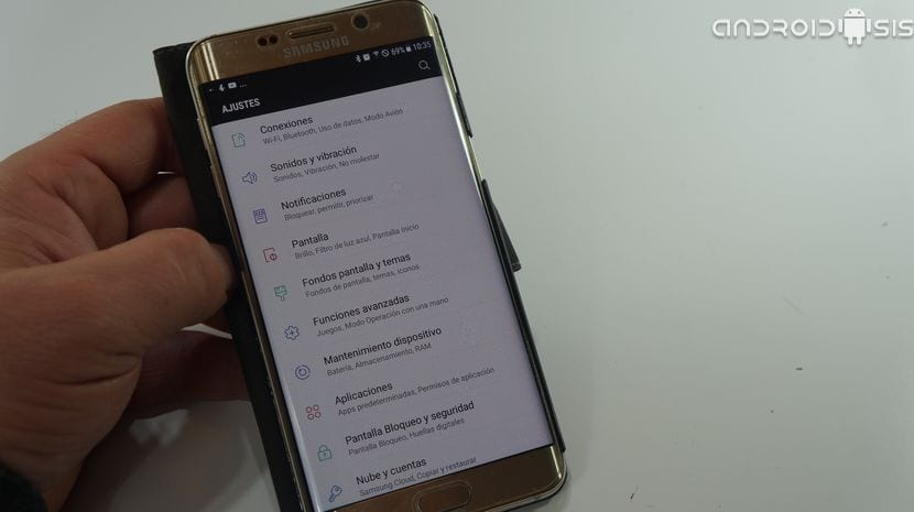 Nougat en el Samsung Galaxy S6 Edge Plus