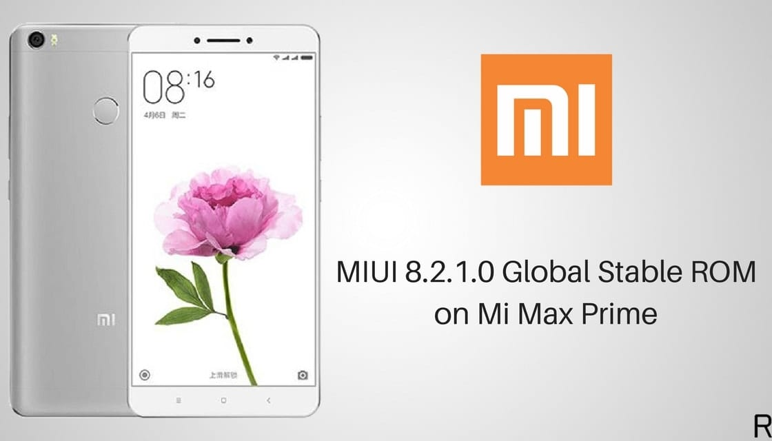 MIUI 8.2 actualización disponible