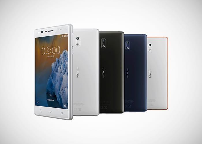Nokia 3 un smartphone Android para lo básico por 139 euros y la garantía de NOKIA