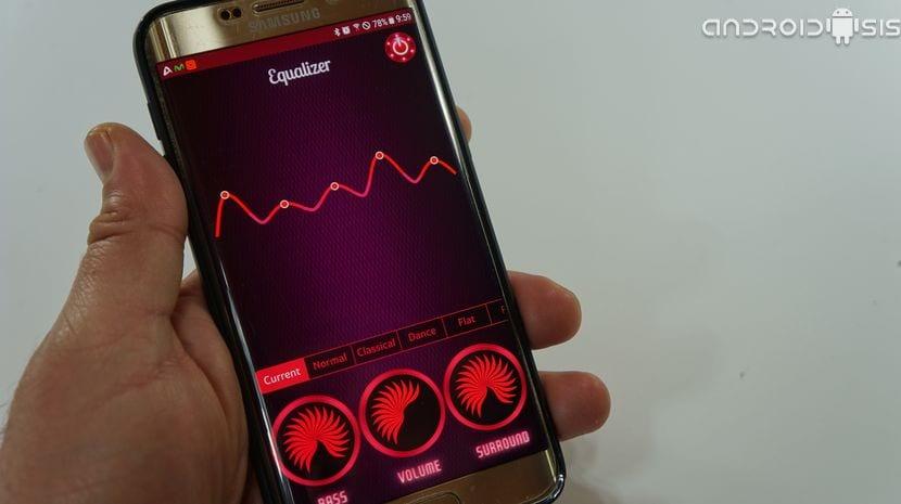 Un reproductor de música para Android con gran ecualizador de sonido