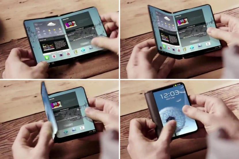 prototipo Samsung plegable