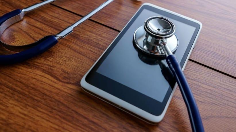 smartphone médico